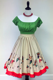 Hula Gals Sweets Circle Skirt