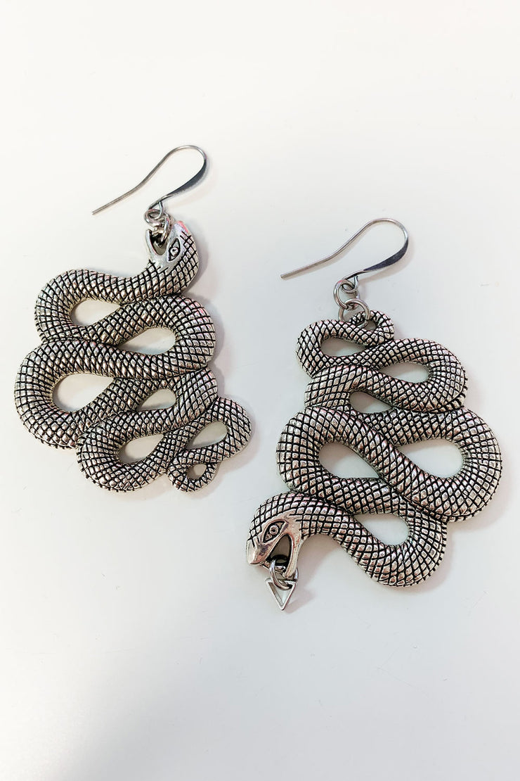 Serpentina Snake Earrings PRE-ORDER (4099446800439)