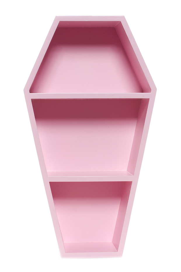 Pink Coffin Shelf