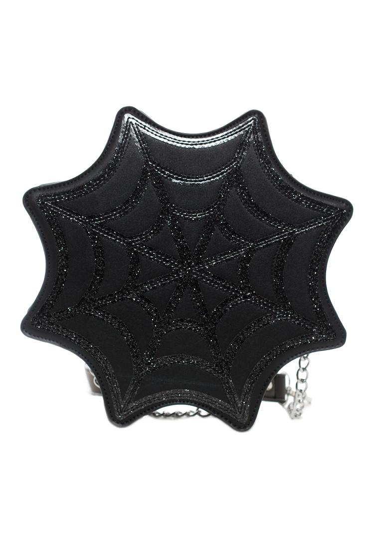 Spiderweb Sparkle Purse