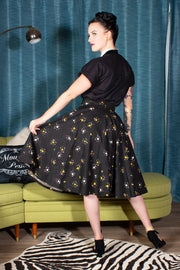 Spellbound Circle Skirt by The Oblong Box Shop