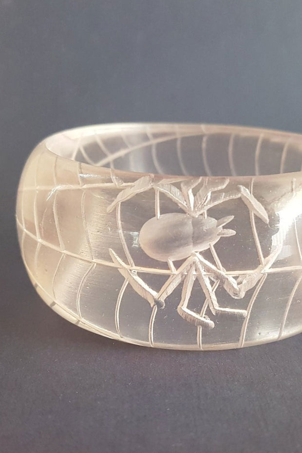 Corday Spiderweb Thick Bangle
