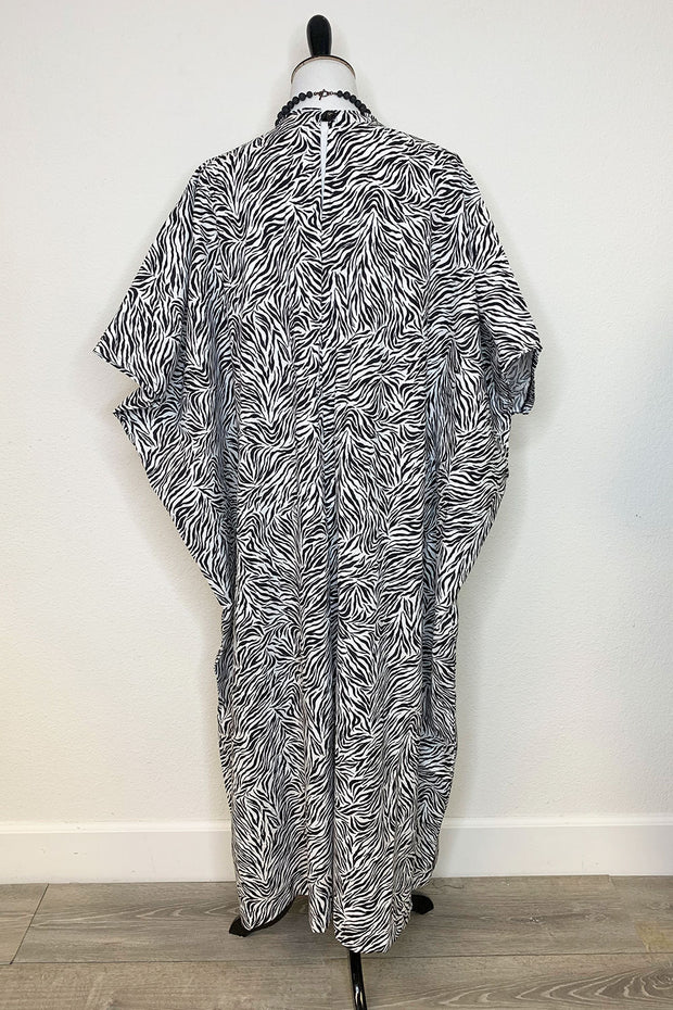 Zebra Caftan - Cotton (1650730369079)