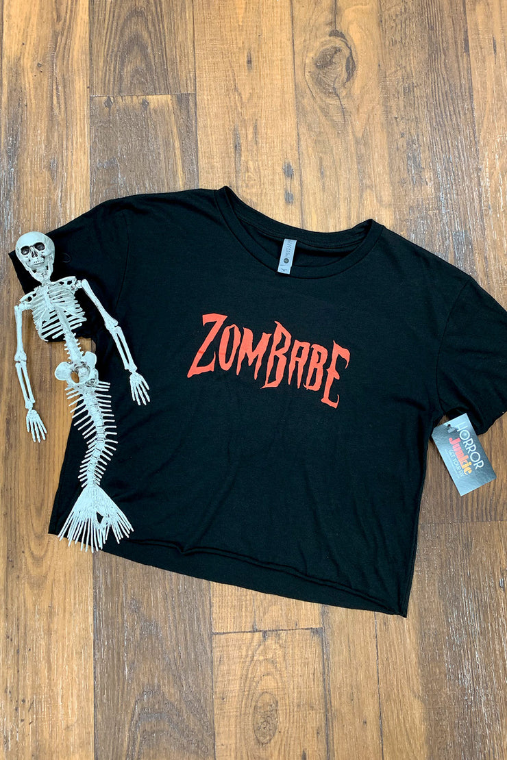 ZomBabe Crop Top by Horror Junkie
