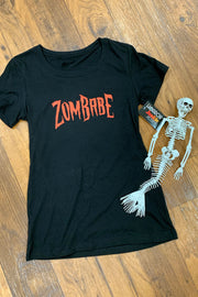 ZomBabe Fitted Ladies T by Horror Junkie