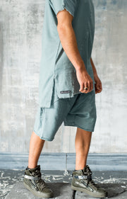 Heracles Shorts Steel Blue