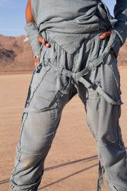 Transcend Pants Steel Blue