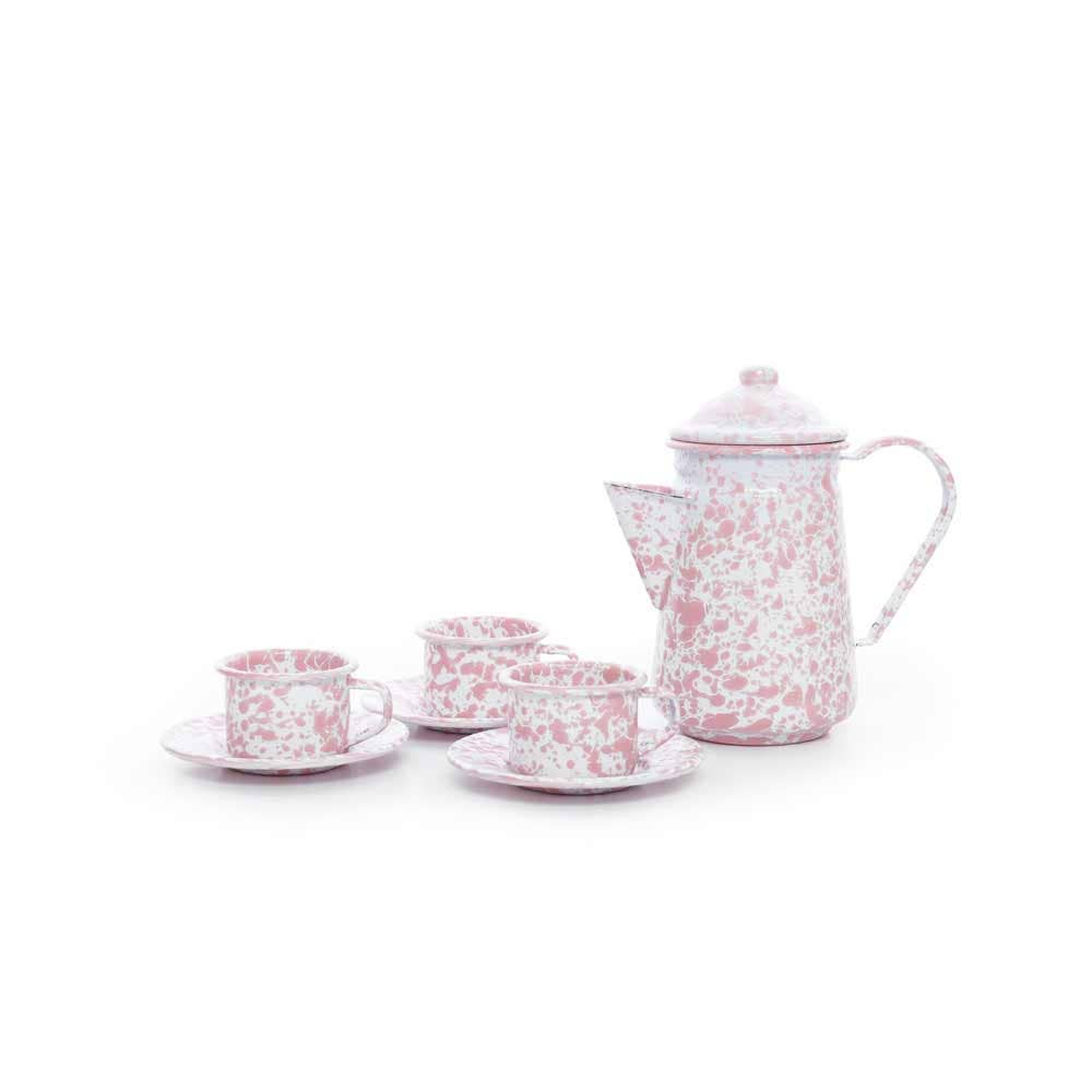 ENAMELWARE CHILDRENS TEA SET