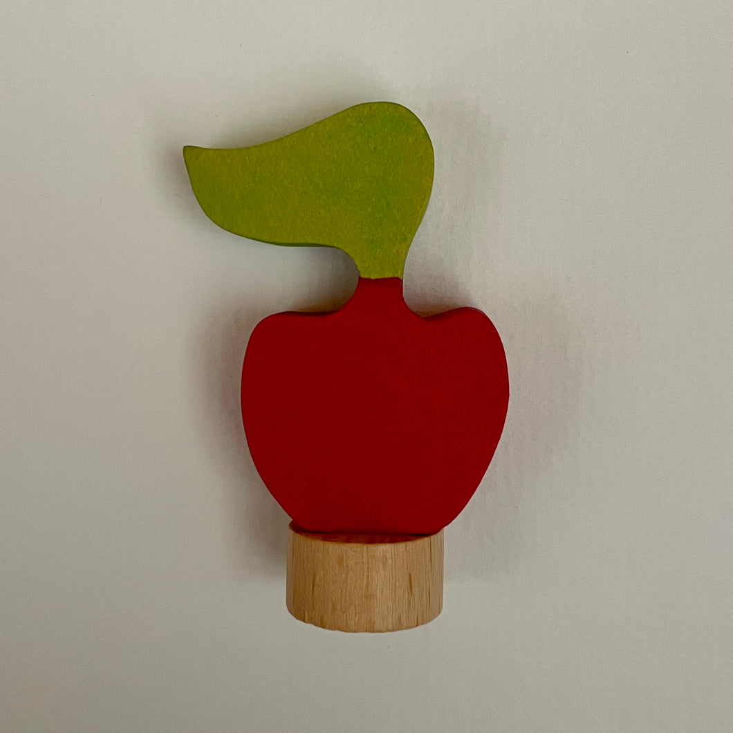 APPLE BIRTHDAY RING ORNAMENT