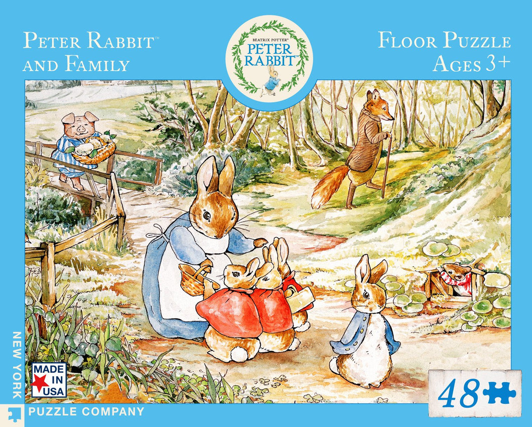 PETER RABBIT AND FAMILY PUZZLE