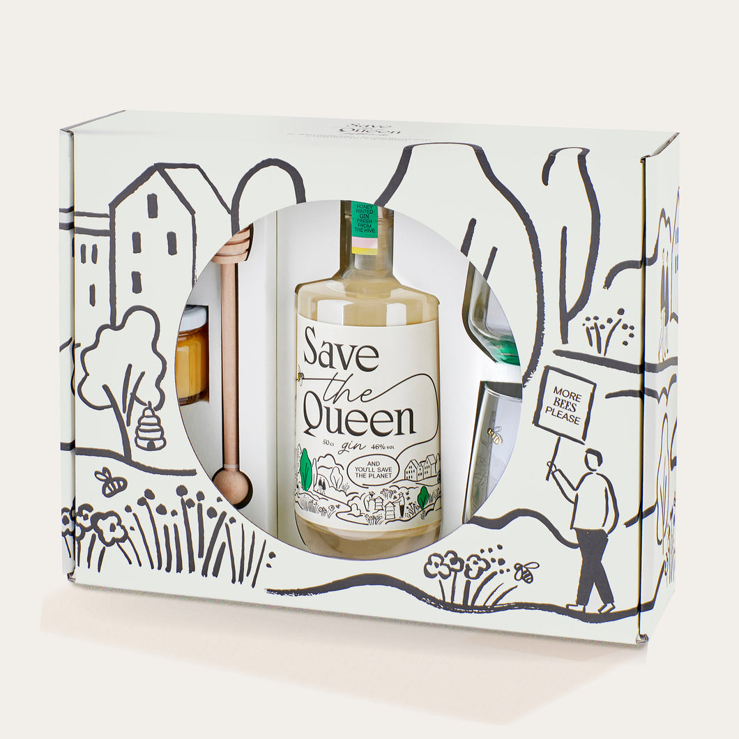 Save The Queen Gin Giftpack