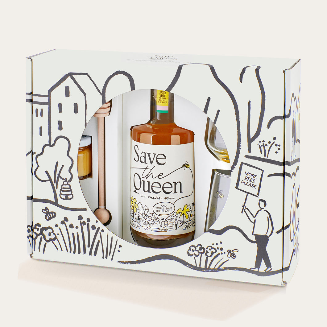 Save The Queen Rum Giftpack