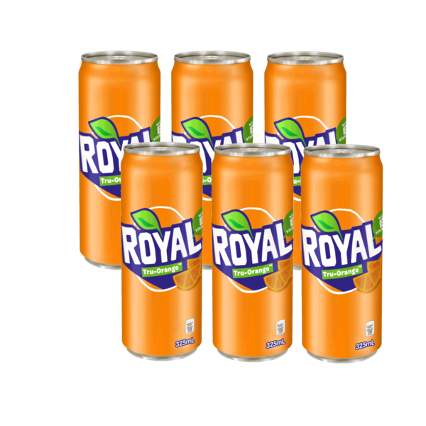 Royal Orange 330ml Can (Pack of 6)
