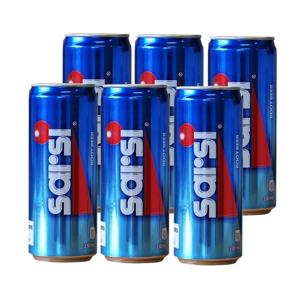 Sarsi Rootbeer 330ml Can (Pack of 6)