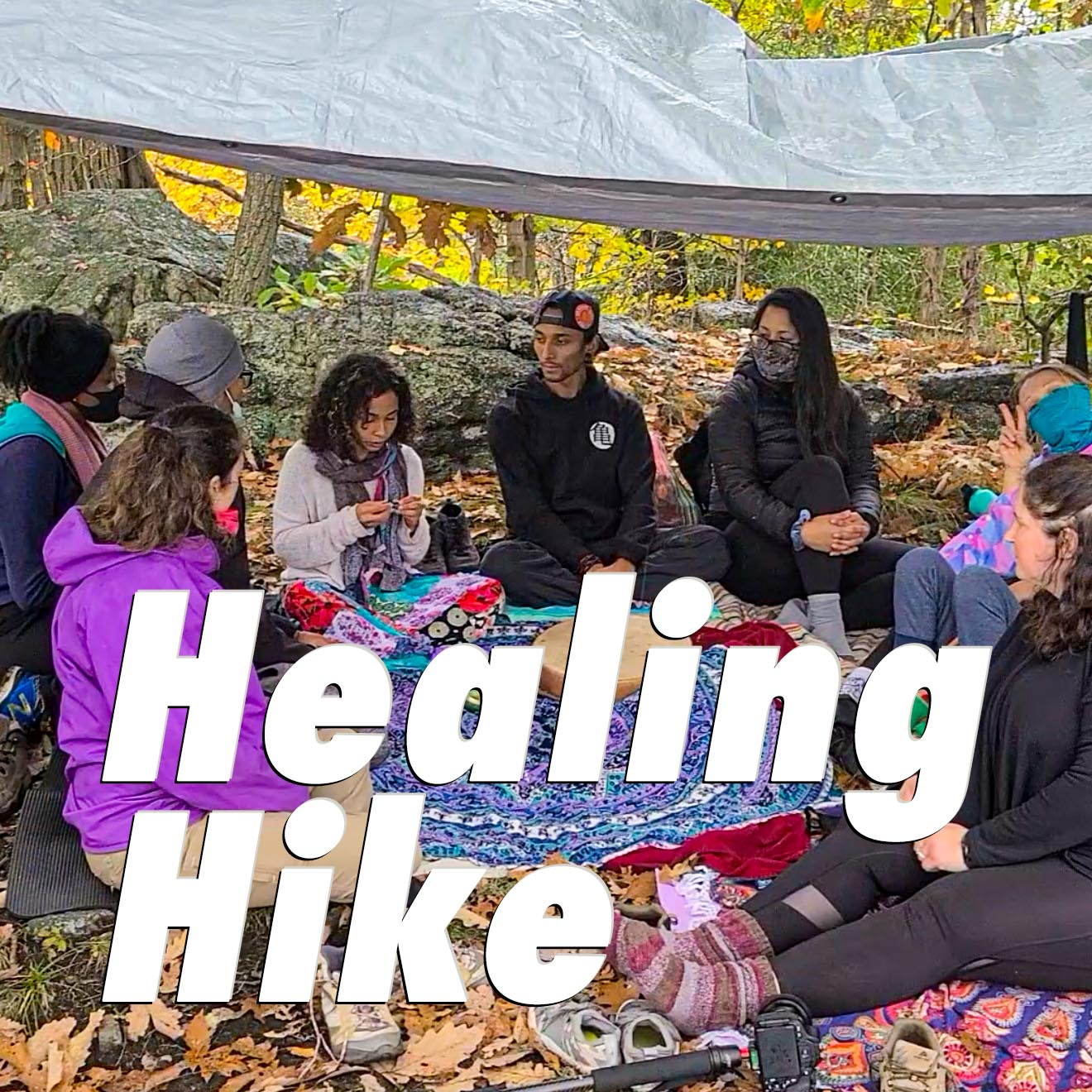 Healing Hike in Collaboration With Ivelise + Alexander