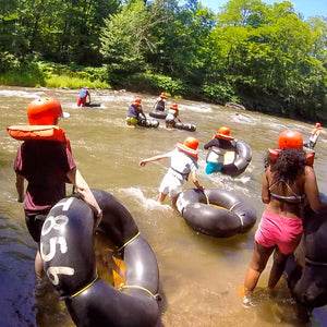 Whitewater Tubing Day Trip!