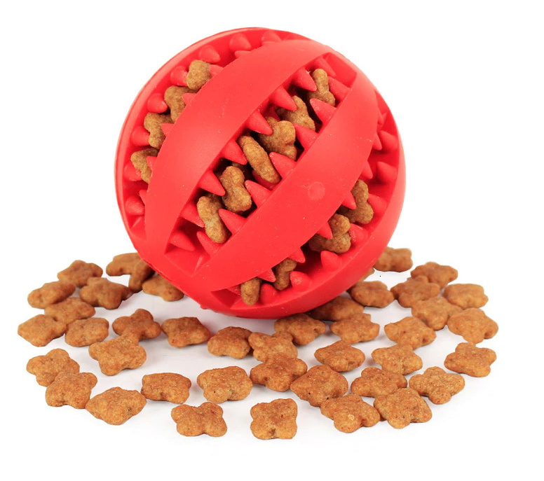 Tooth Cleaning Chew Dog Ball & Toy by MYHARNESS™