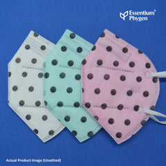 N95 Face Mask Polka, Set of 3