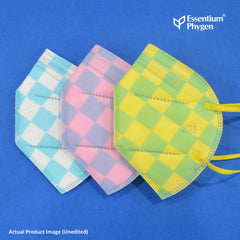 N95 Face Mask Checkered, Set of 3