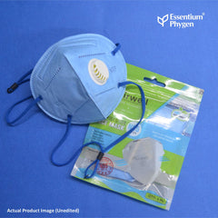 N95 Face Mask Longtail Blue, Set of 3