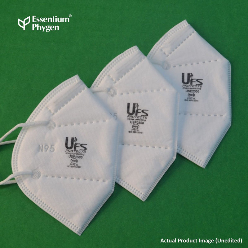 N95 Face Mask USP2500, Set of 10