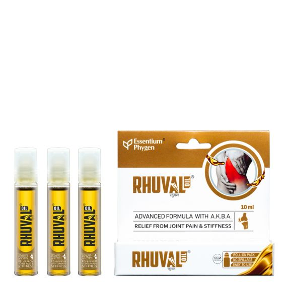 RHUVAL OIL, 10ML PACK OF 3