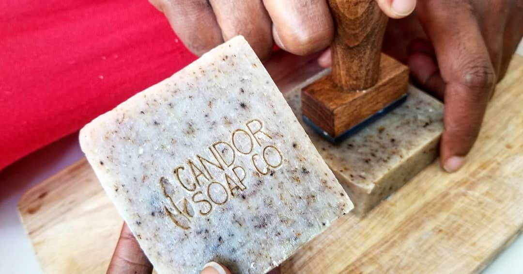 soap stamping
