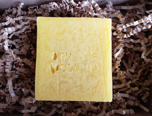 All Natural Carrot Juice Soap | Unscented