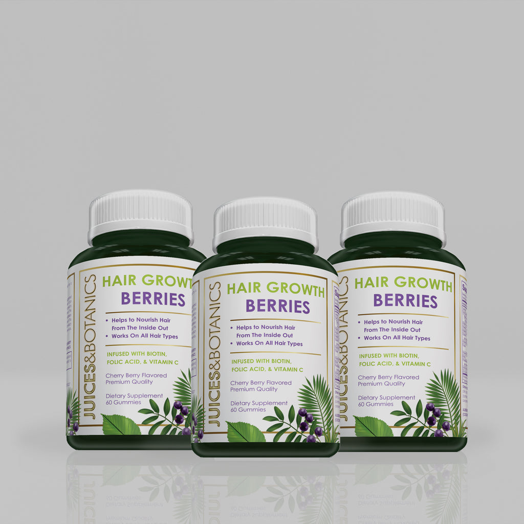 90 Day Hair Growth Berries Bundle