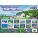 Coil bound calendar featuring beautiful scenes from across the Island. A perfect gift for you or a loved one!