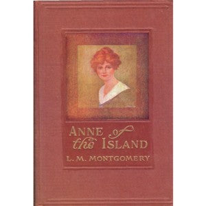 """Anne of the Island"" Postcard size 4"" x 6""."