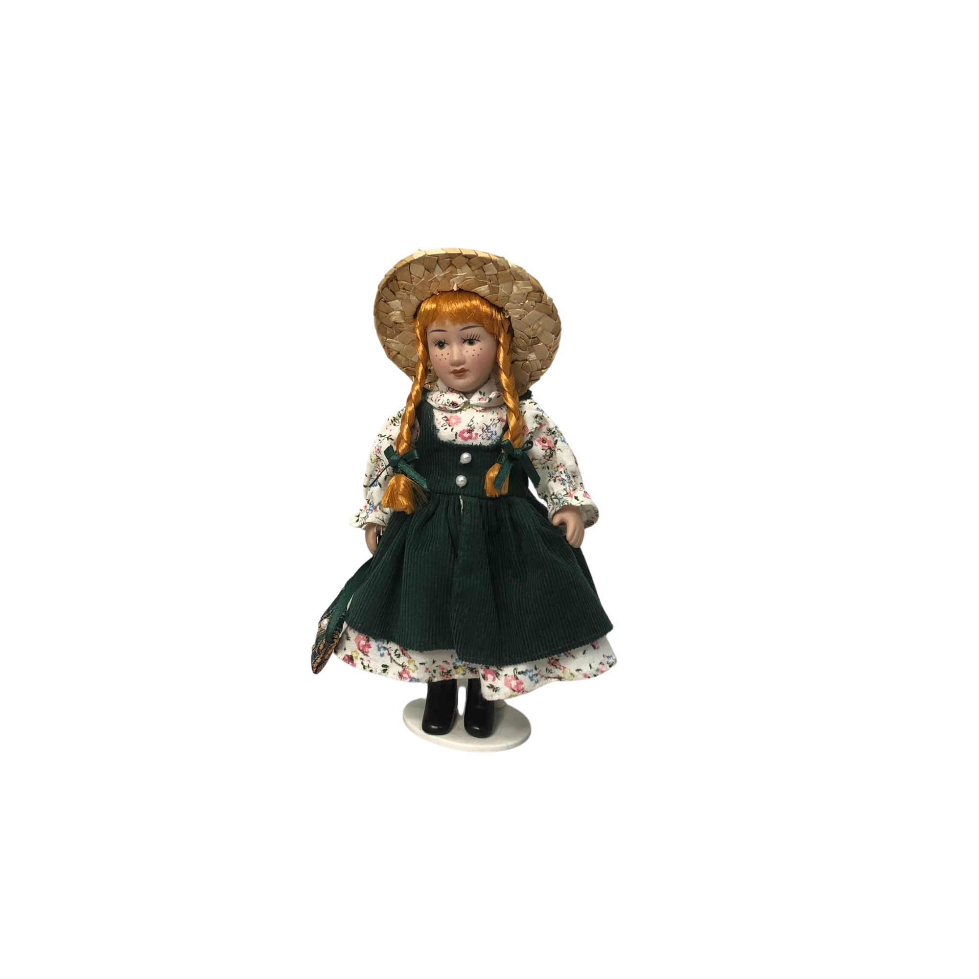 ANNE OF GREEN GABLES ALL PORCELAIN 6.5 INCH DOLL