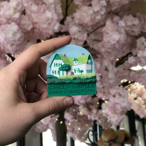 Anne of Green gables house magnet