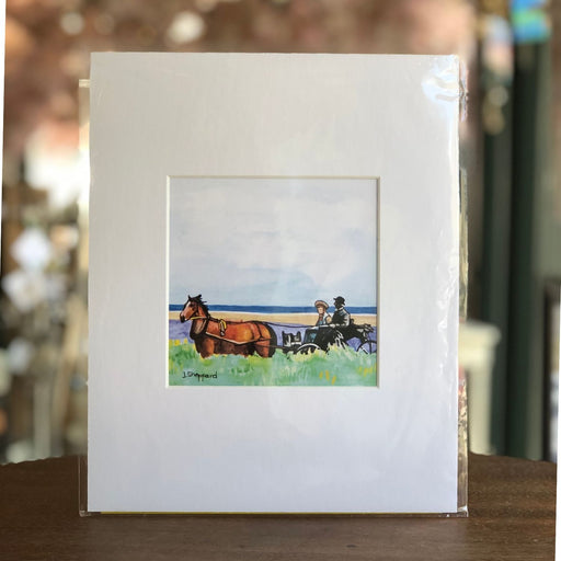 Anne & Matthew Carriage Ride Print Jessica Sheppard