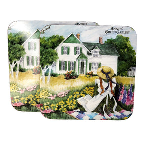 Anne on quilt trivets Anne of Green Gables