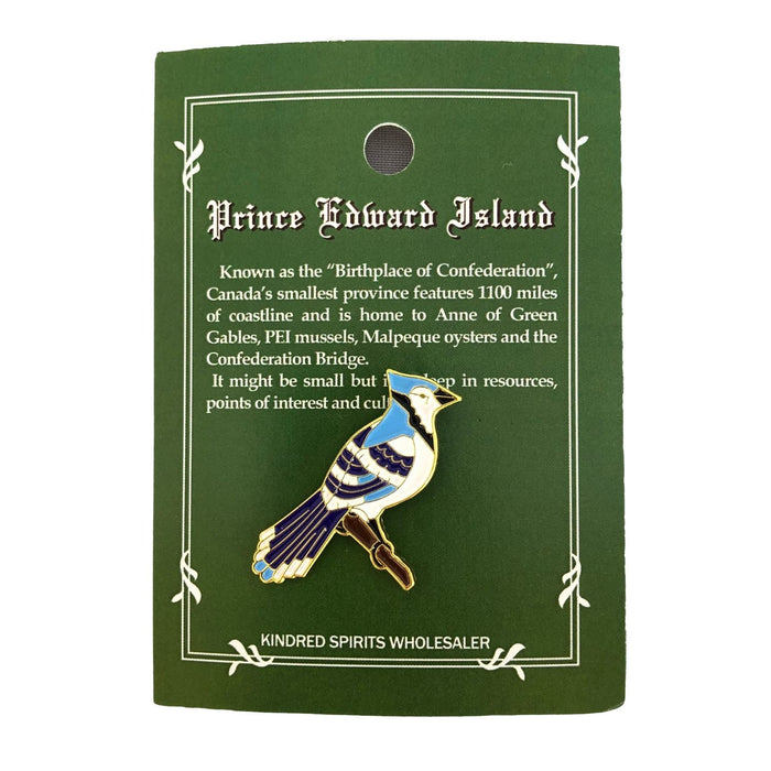 Bluejay Lapel Pin