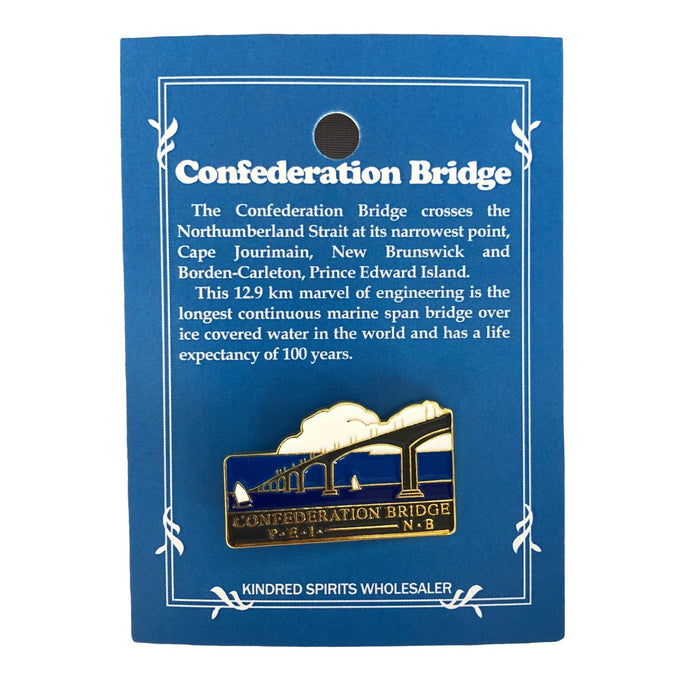 Confederation Bridge pin