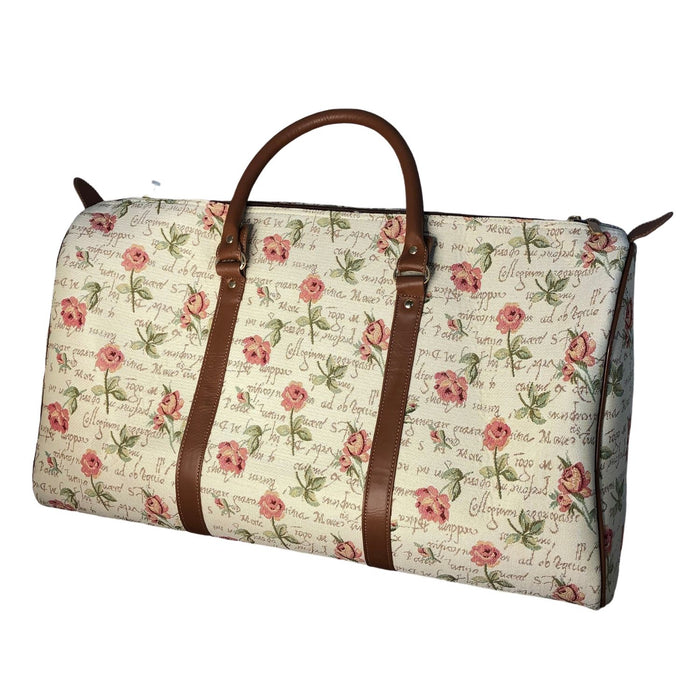 English Rose Tapestry Bag