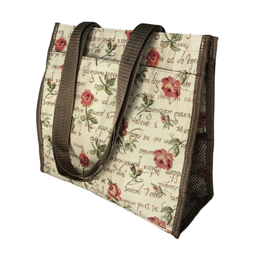 english Rose Tapestry Shopper