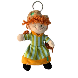 Anne of Green Gables plush keychain.