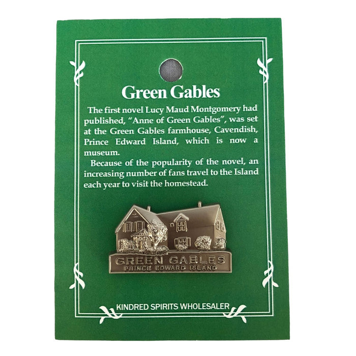 Green Gables House Lapel Pin