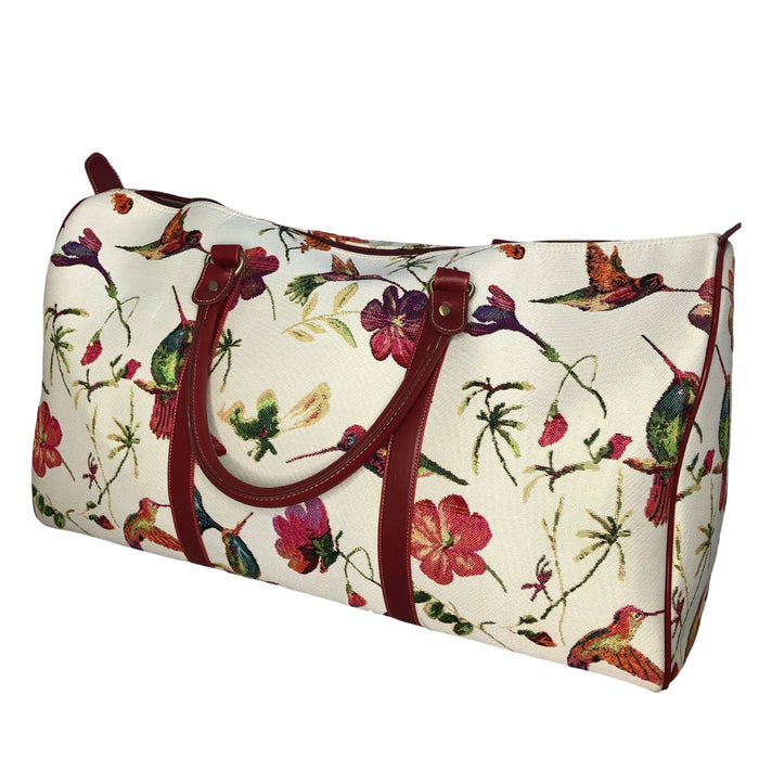 hummingbird tapestry bag