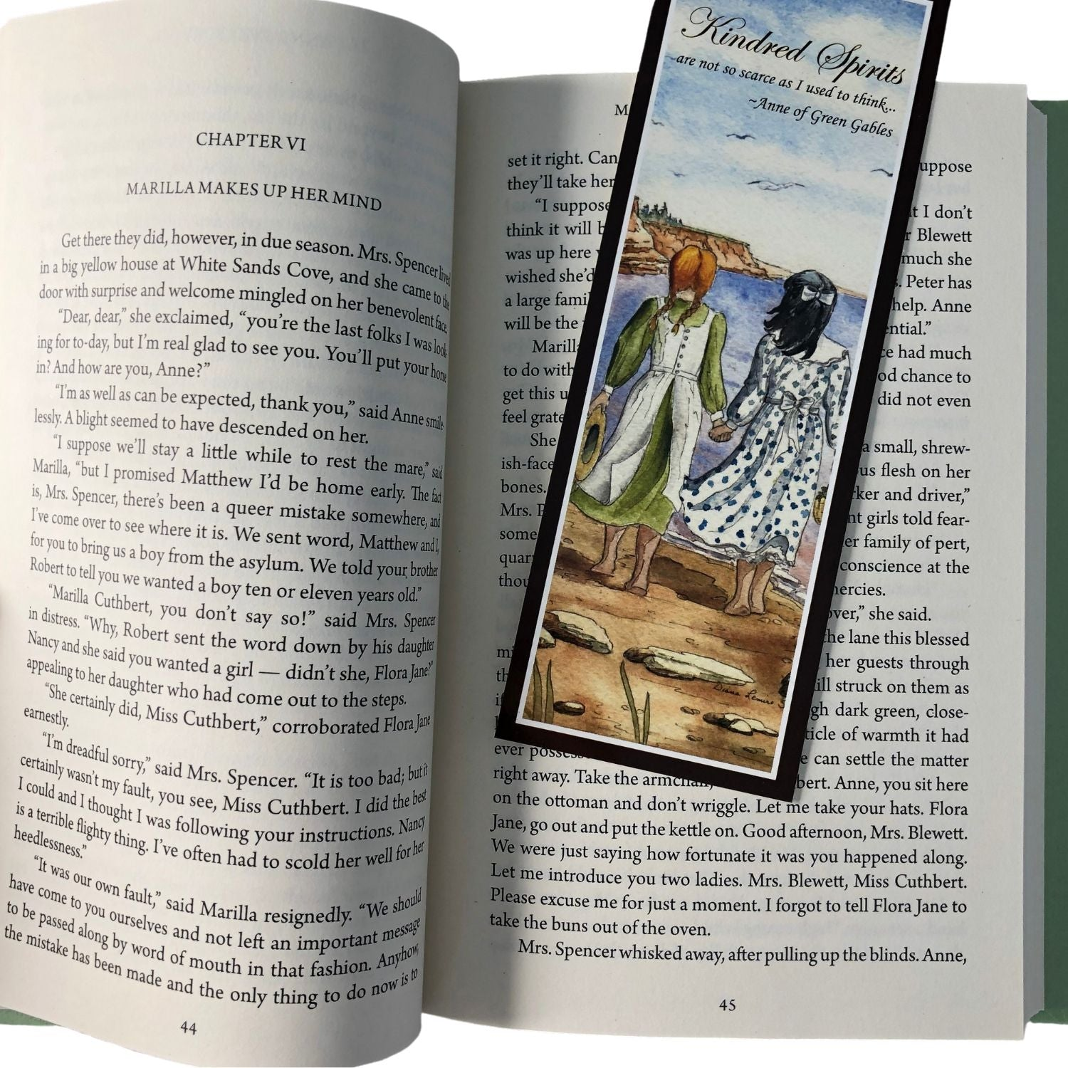 kindred Spirits Bookmark Anne Of Green Gables