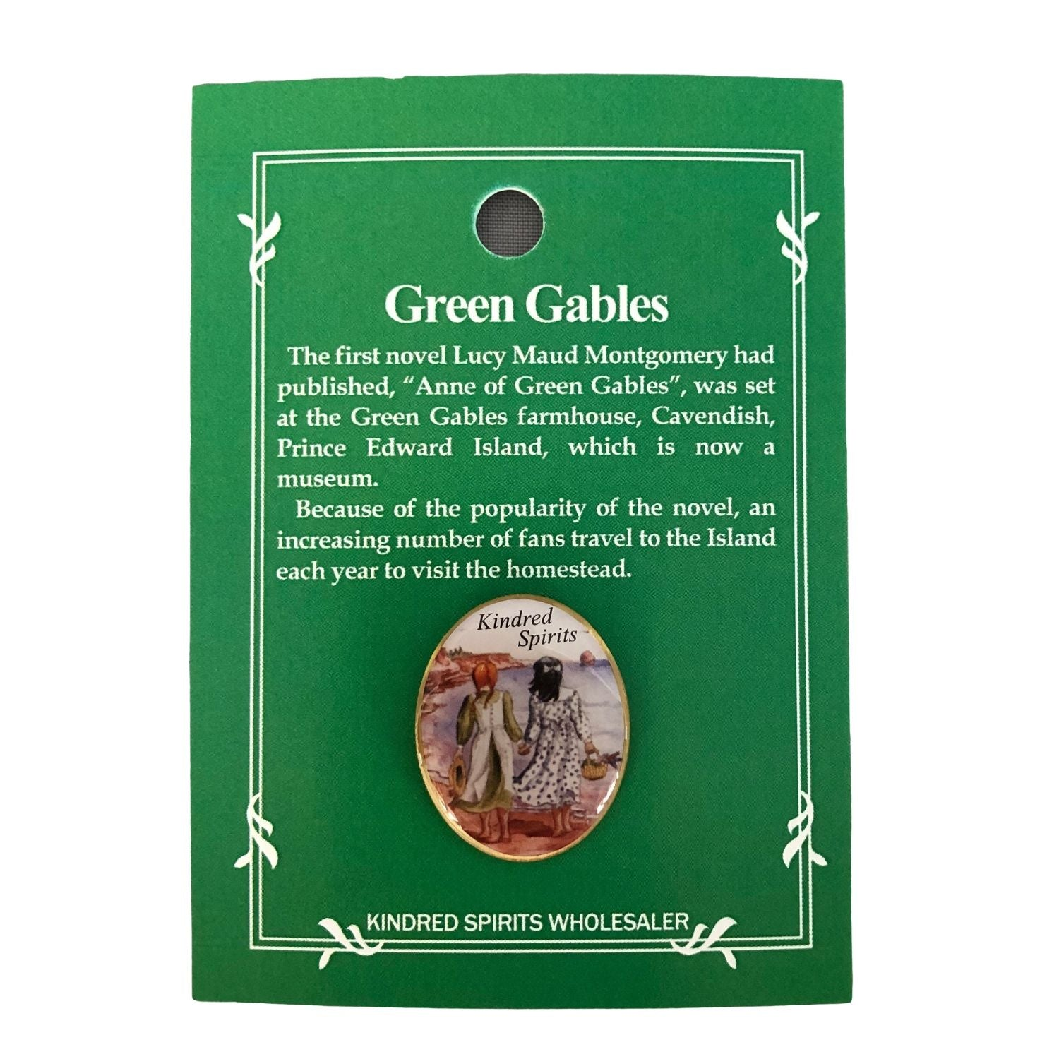 Kindred Spirits Lapel Pin Anne Of Green Gables