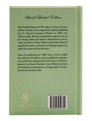 Anne of Green Gables - Special Limited Edition (Hardcover Book)