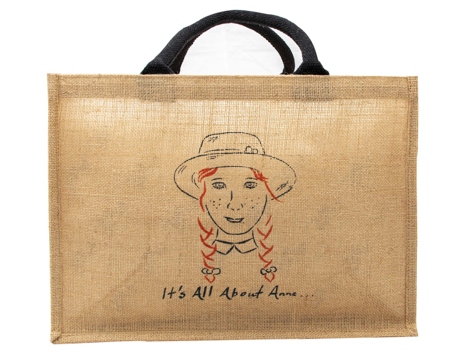 'It's All About Anne' Jute Bag