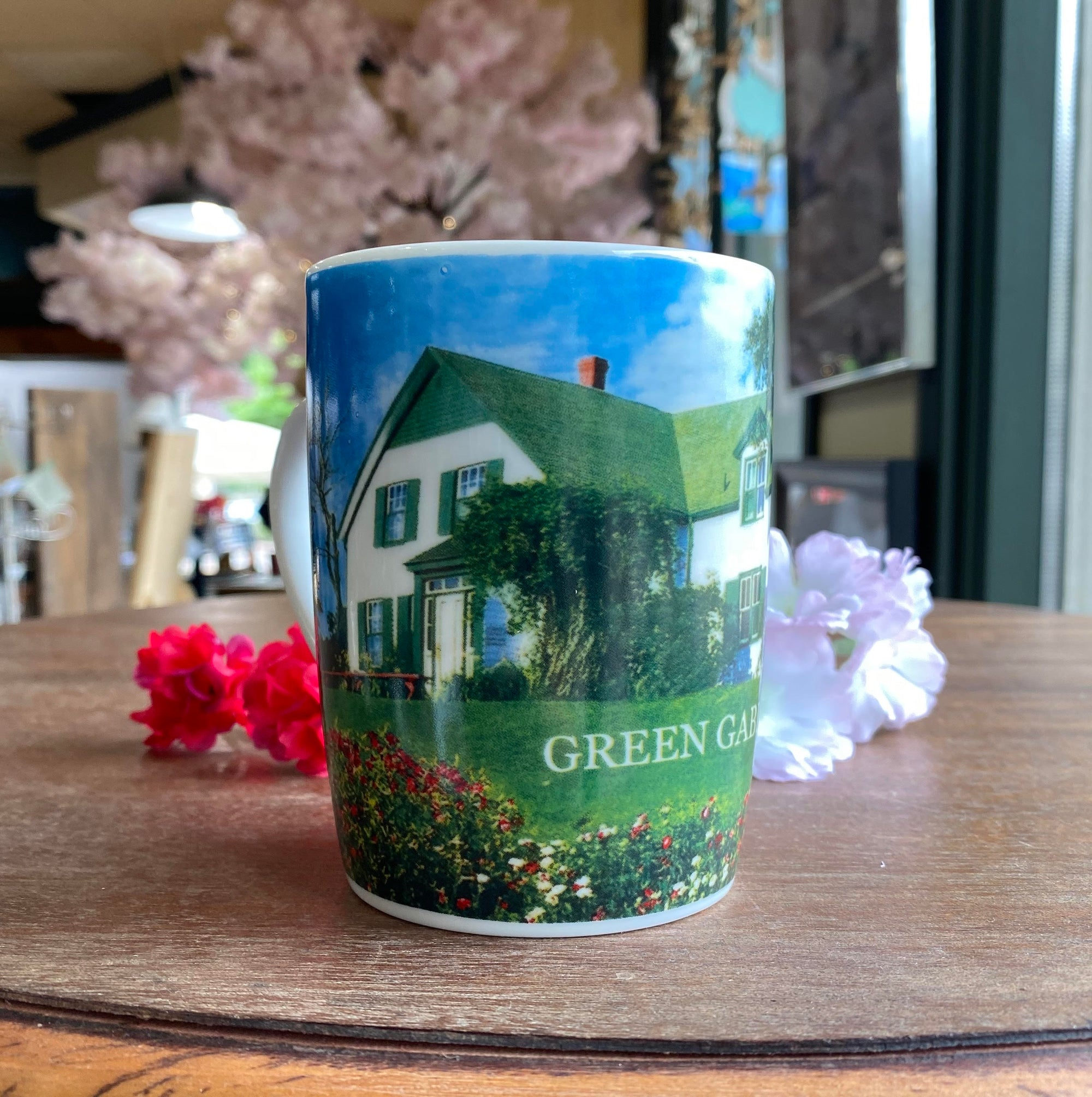 Green Gable Porc. Mug