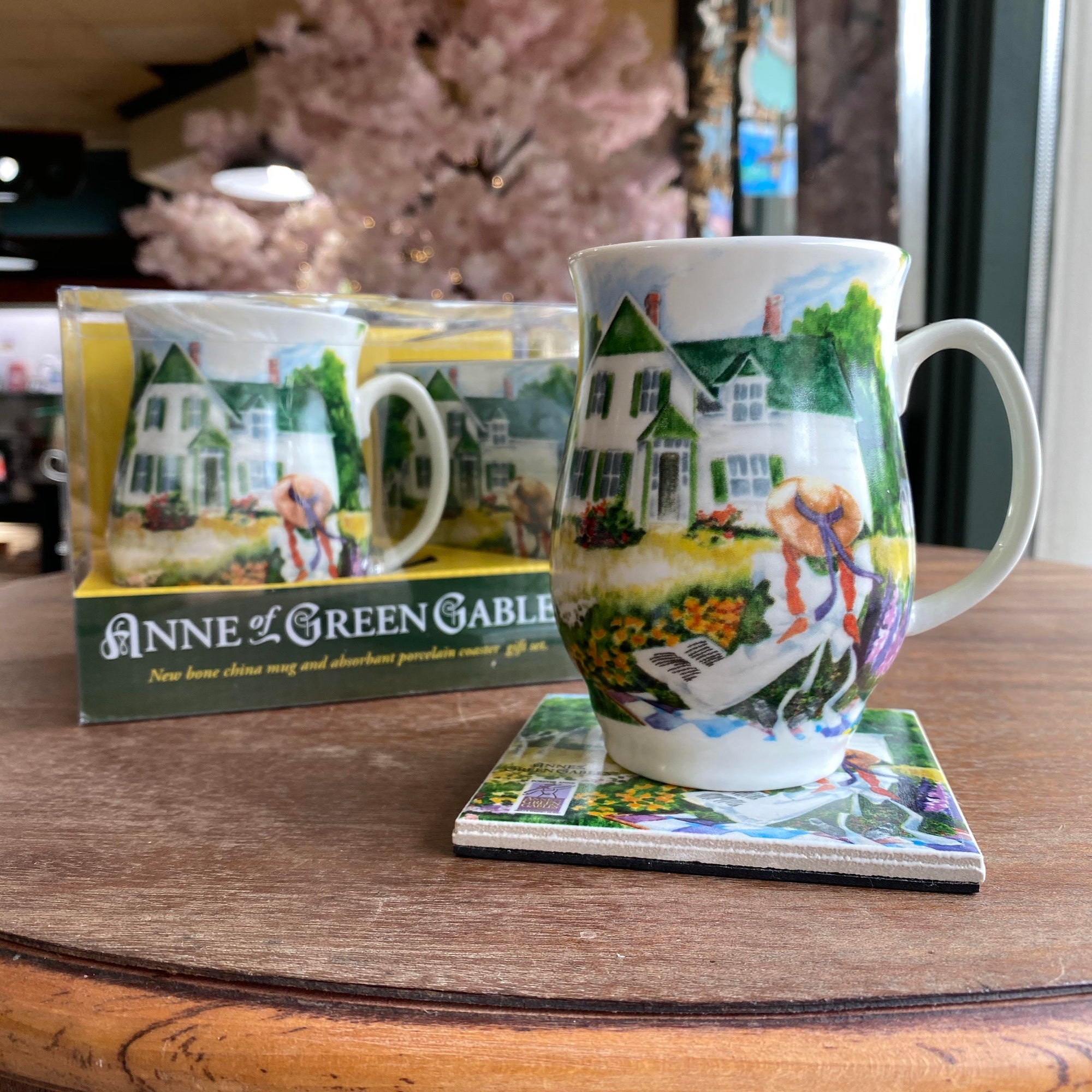 Anne of Green Gables mug and Coaster