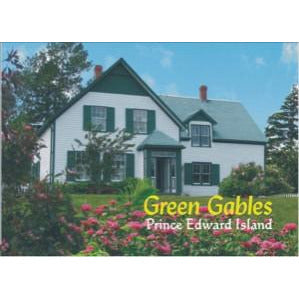 Green Gables House Metal Magnet