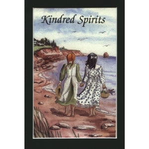 'Kindred Spirits' Matted 5x7 Print by Diana Savidant Anne Of GReen Gables